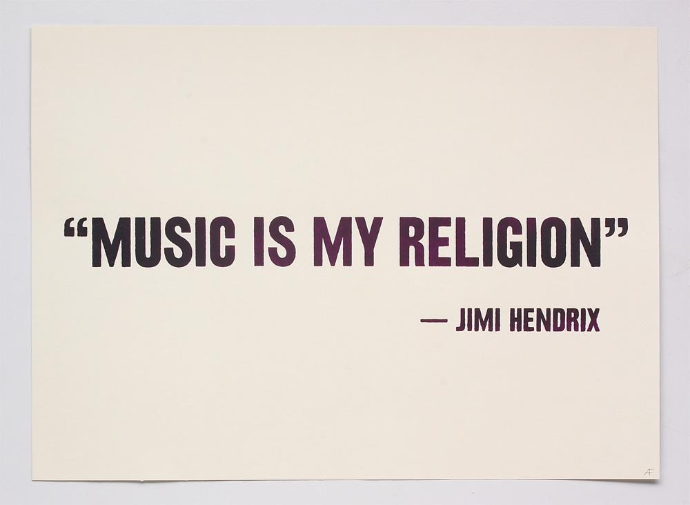 Music Quotes: Design & Art Direction